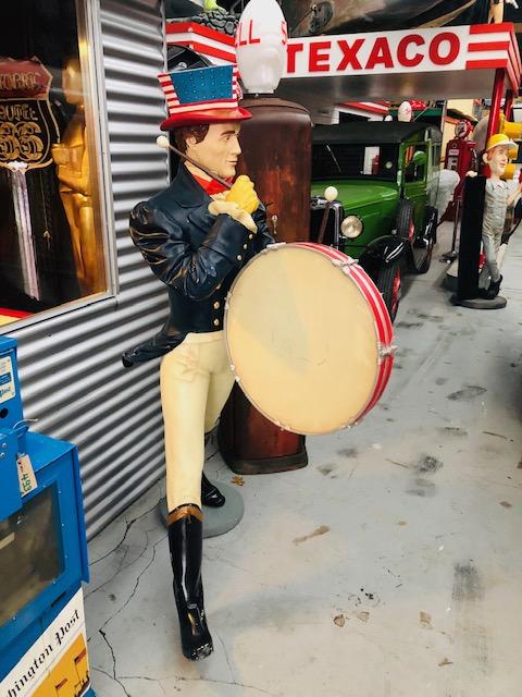 Vintage johnny walker statue