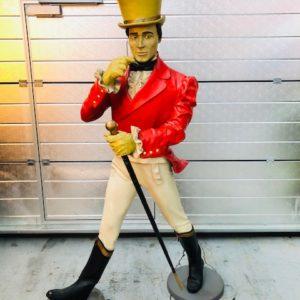 Johnny Walker statue taille réel