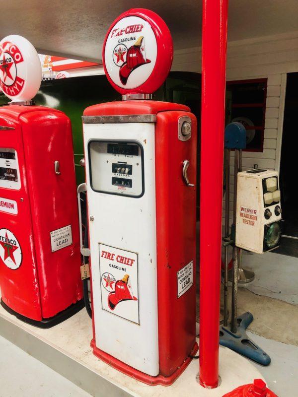 Pompe à Essence Texaco Fire Chief Tokheim américaine