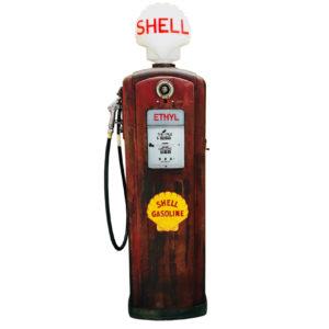 Shell Bennett American gas pump from 1950