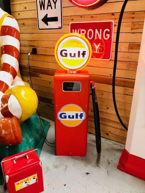 Gulf: Gasboy gas pump