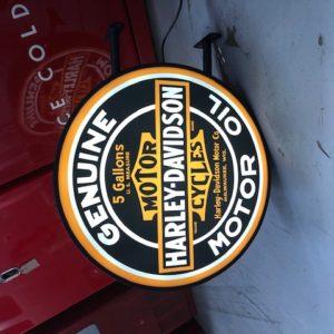 Illuminated sign Harley Davidson 60 cm