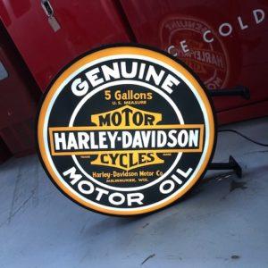 Enseigne lumineuse Harley Davidson 60 cm