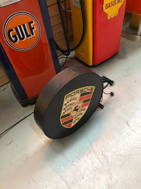 Enseigne lumineuse Porsche 60 cm