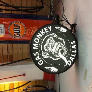 Gas monkey sign