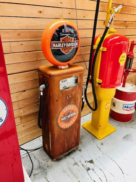 Harley Davidson gas pump made by Tokheim