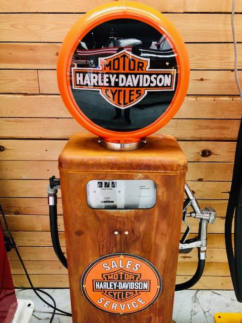 Harley Davidson vintage gas pump made by Tokheim