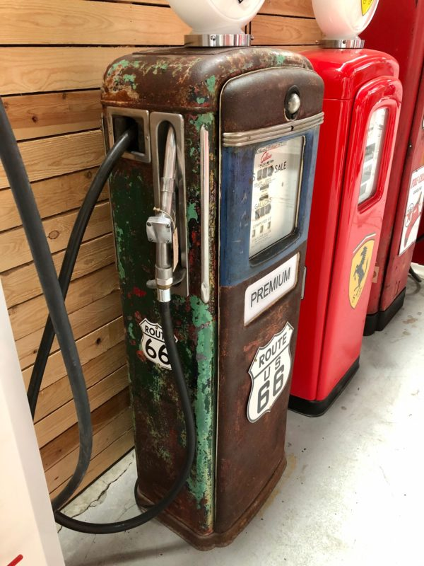 pompe essence Route 66 américaine