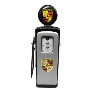 Pompe essence Américaine Porsche de 1954 restaurée