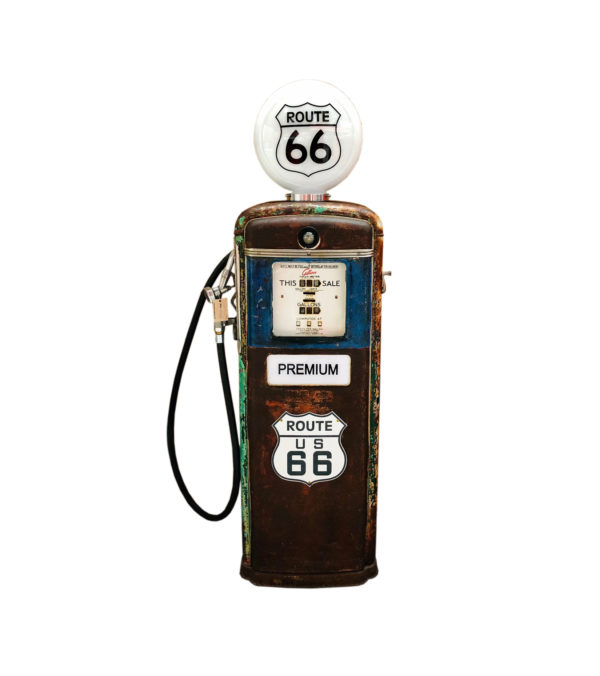pompe à essence Route 66