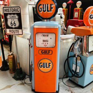 Pompe Essence Ancienne Gulf