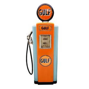 Pompe essence Gulf Wayne 70 de 1947 restaurée
