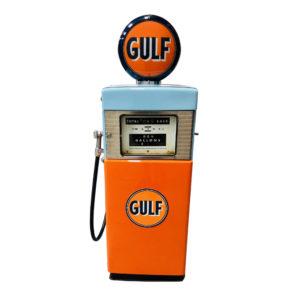 Gulf Wayne restored gas pump from 1950.