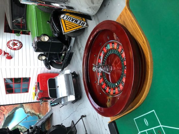 casino wheel & table from the 1980s.