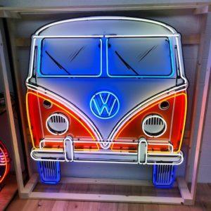 Enseigne Néon Volkswagen Bulli 160x160cm