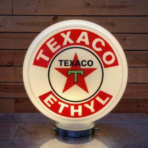 Texaco gas pump globe 40cm