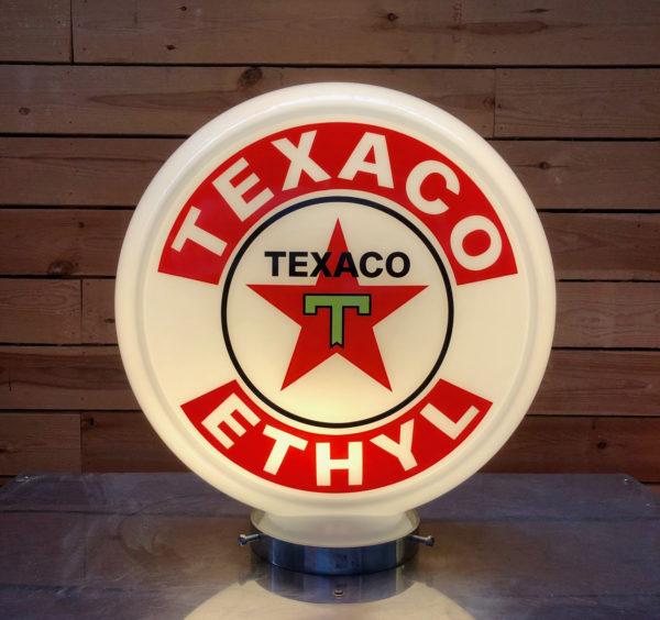 Globe pompe essence Texaco 40cm