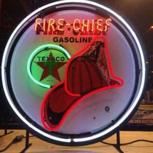 Texaco Fire Chief neon sign 60cm