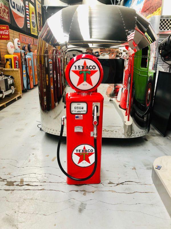Pompe à essence texaco tokheim restaurée de 1960