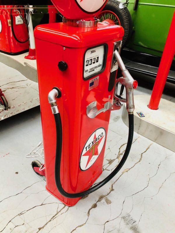 Pompe à essence texaco tokheim restaurée