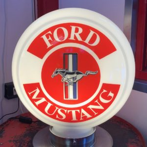 Globe pompe à essence Ford Mustang 40cm