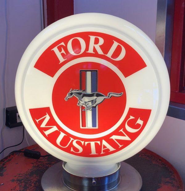 Globe pompe à essence Ford Mustang 40cm