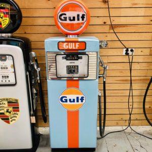 Pompe à essence Gulf Wayne de 1951 restaurée