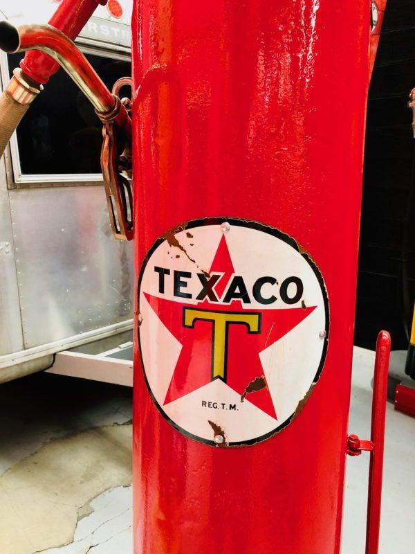 Pompe à essence américaine Texaco fire chief 1924