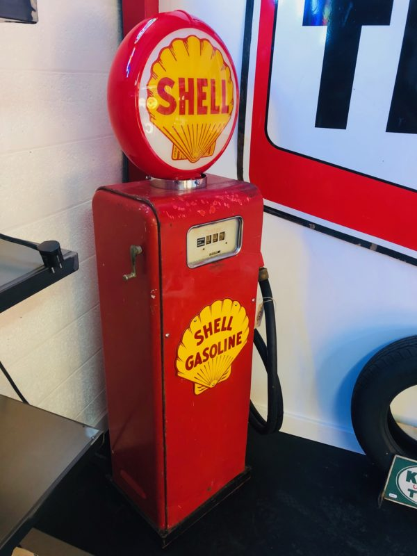 pompe à essence Shell GASBOY