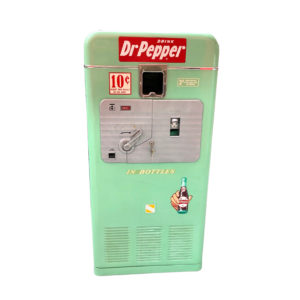 Dr Pepper VMC 33 vending machine from 1955.
