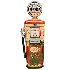 American Cities service Gilbarco gas pump.