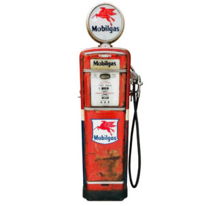 Gilbarco Mobilgas American gas pump  from 1955