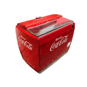 Frigo glaciaire Coca Cola des années 1950