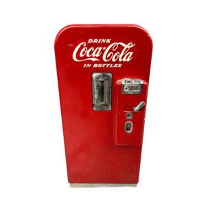 Coca Cola V39 vending machine with original paint