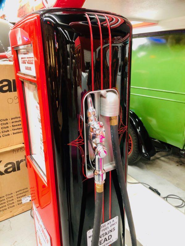 Pompe à essence Texaco Fire Chief Américaine restaurée