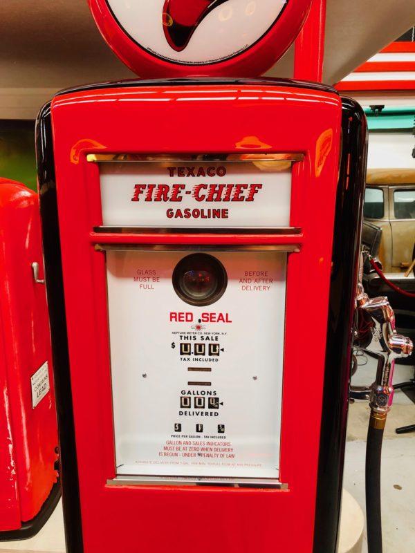 Pompe à essence américaine Texaco Fire Chief