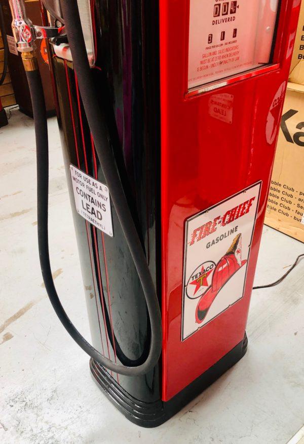 Pompe à essence américaine Texaco fire chief neptune