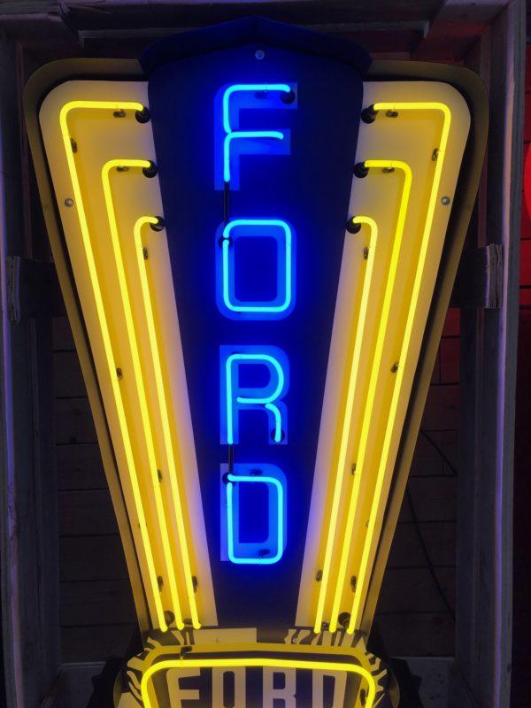 Enseigne Néon Ford 1950