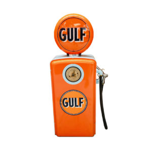 Gulf restored American gas pump
