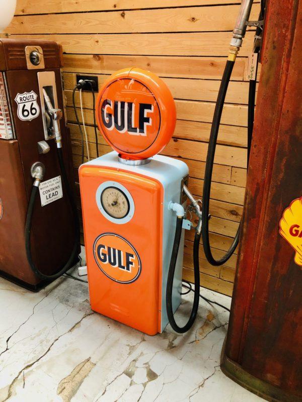 Pompe à essence Gulf américaine