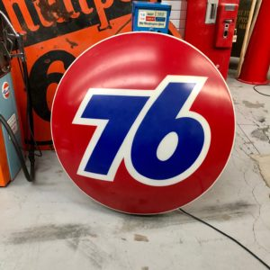 Union 76 Illuminated Sign Made in USA 114cm