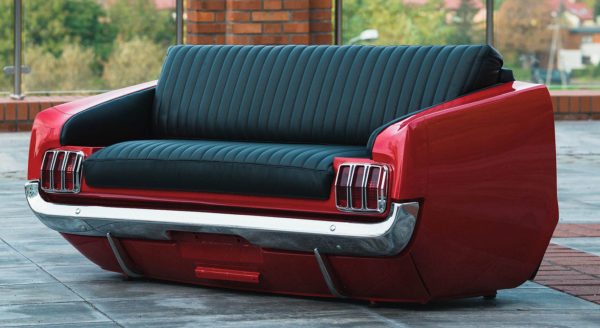 Canapé ford mustang 1966 coter