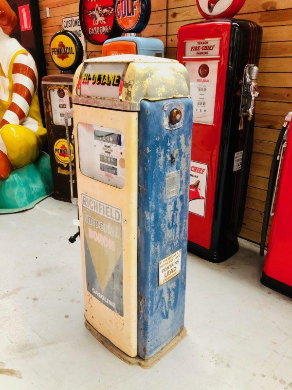 Pompe à essence américaine Californie