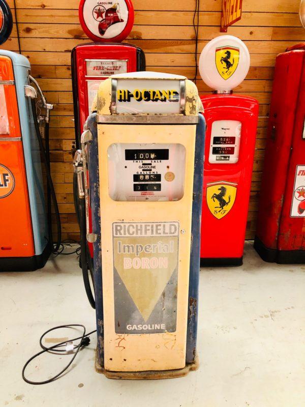 Pompe à essence américaine Richfield National