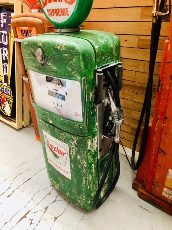 Pompe à essence américaine Sinclair Gilbarco dans son jus 2