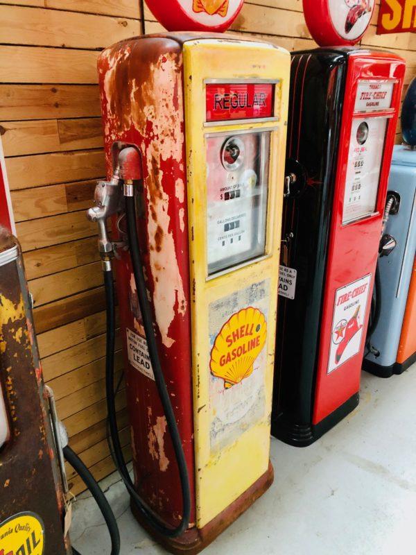 Pompe à essence Shell Américaine de 1939