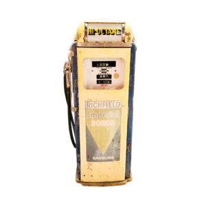 Pompe à essence américaine Richfield National 360 de 1955