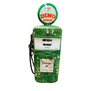 Sinclair Gilbarco american gas pump, original paint.