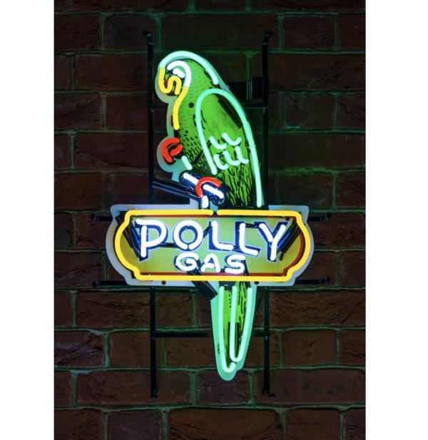Enseigne Néon Polly Gas 65 cm