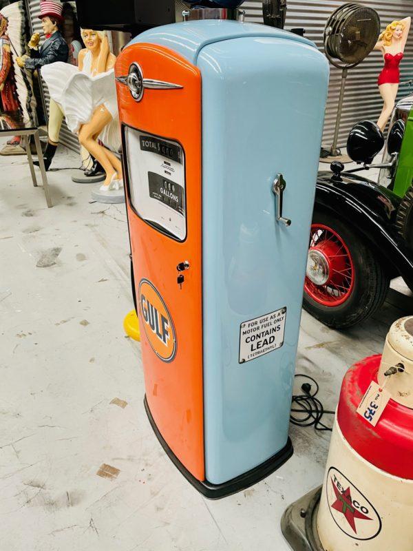 Pompe à essenceGulf restaurée 1